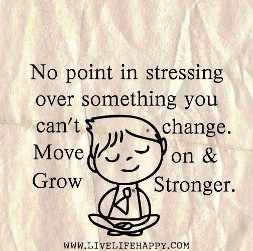 No Stressing