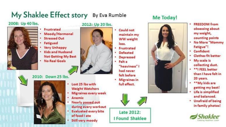 Eva Rumble's Shaklee Story_2015