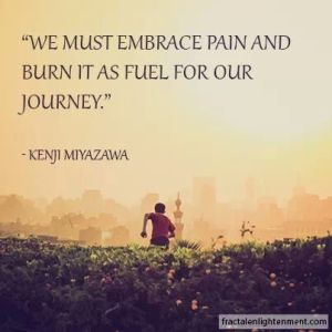 Embrace Pain as Journey Fuel